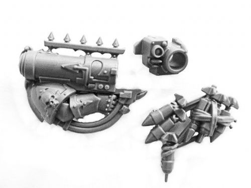 Chaos marine missile launcher